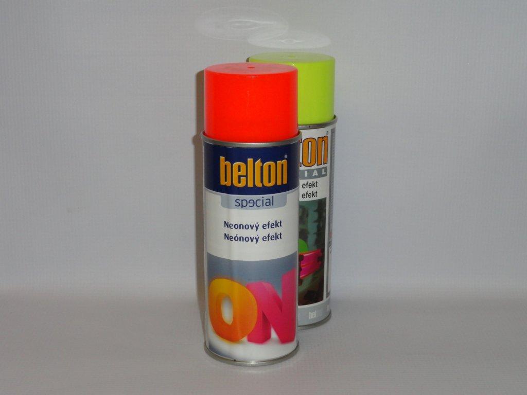 BELTON NEON efekt sprej 400ml červený