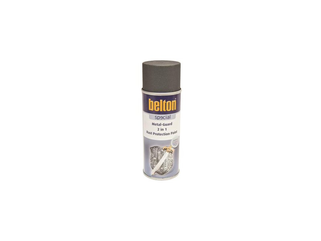 BELTON Metal guard 2 v 1 sprej 400ml antracit 323 653