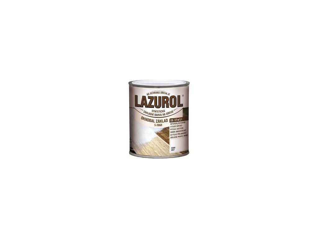 Lazurol oknobal zaklad biely S2060 0,6l syntetický