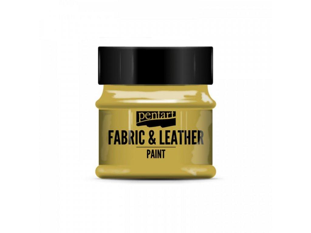 farba na textil a kozu 50 ml glitrova zlata