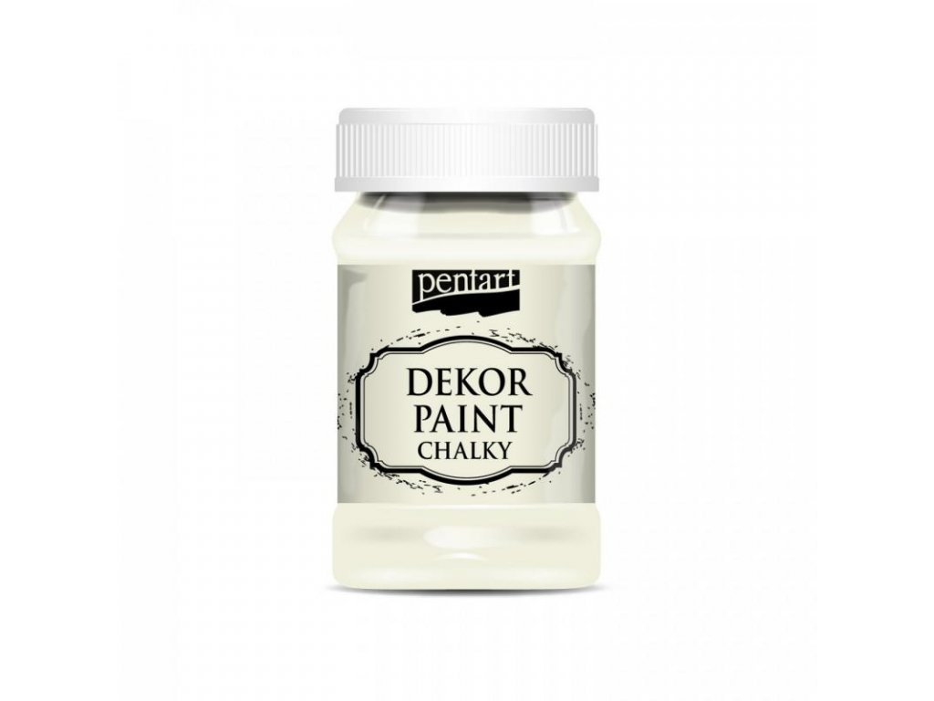 dekor paint soft 100 ml kremova biela