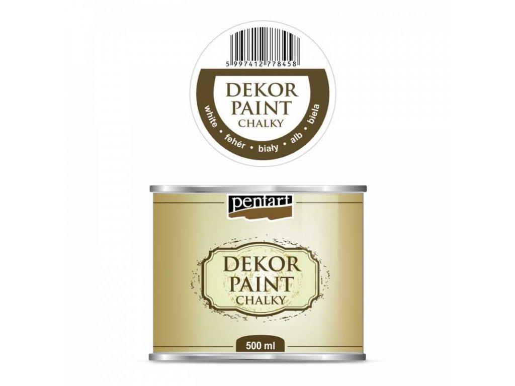dekor paint soft 100 ml biela