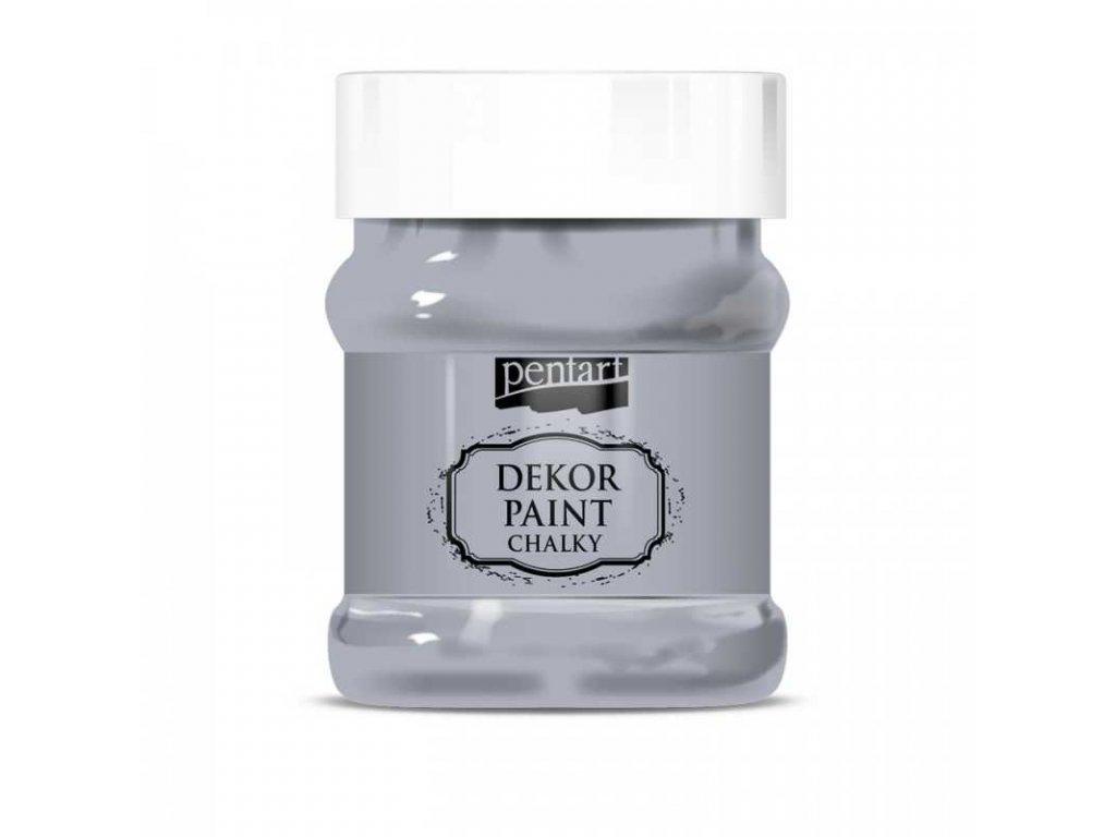 dekor paint soft 100 ml siva