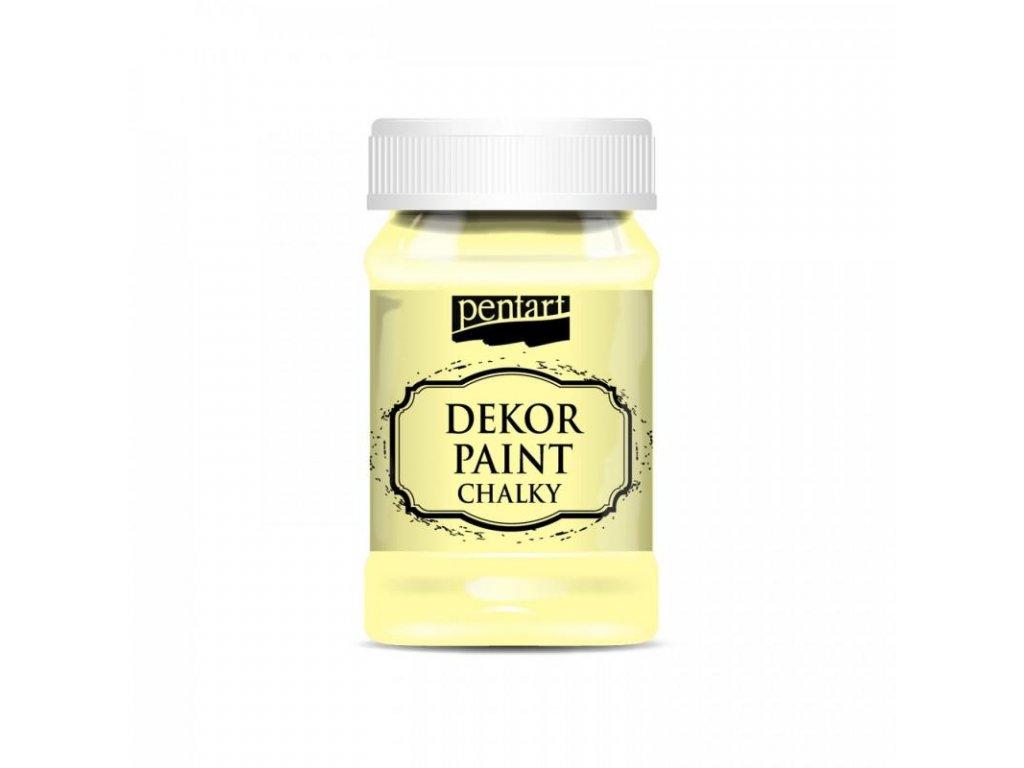 dekor paint soft 100 ml zlta