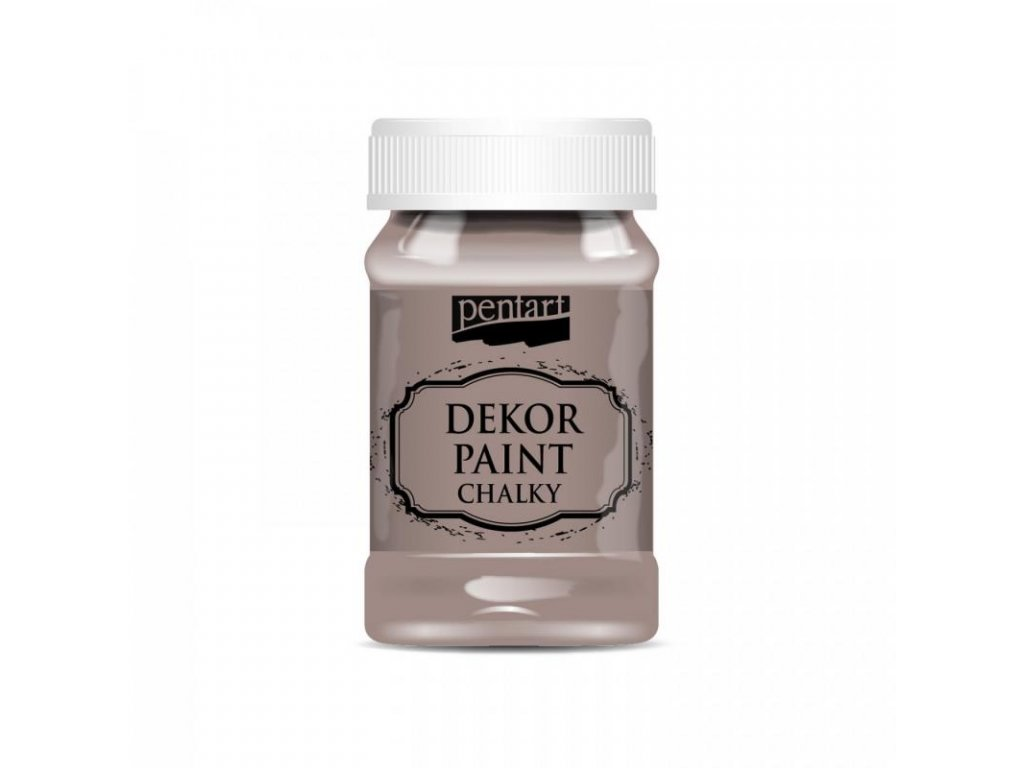 dekor paint soft 100 ml mliecna cokolada