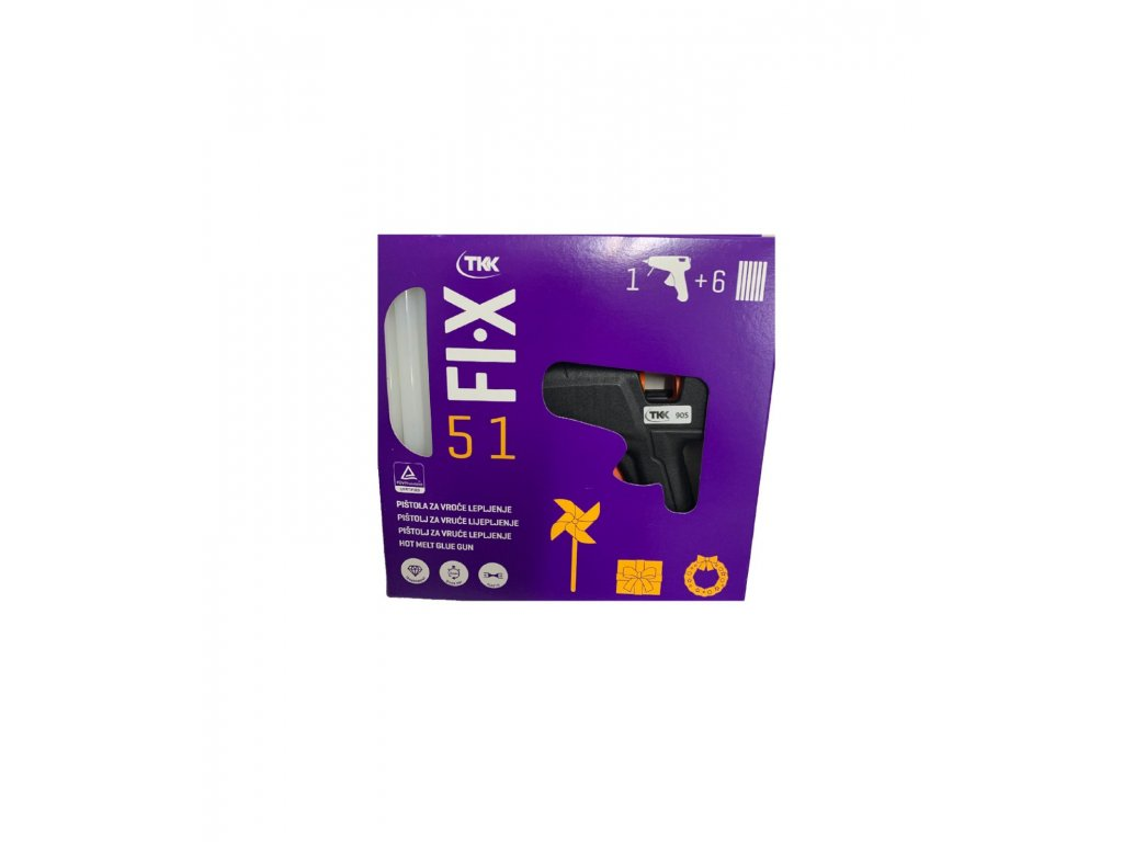 TKK FI-X 51 Tavná pištol +6ks náhradných tyčiniek