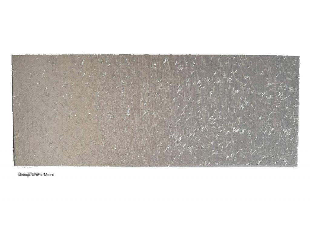 GRIMANI- dekoratívna úprava s lesklým vláknom 1L BIANCO - biela strieborná