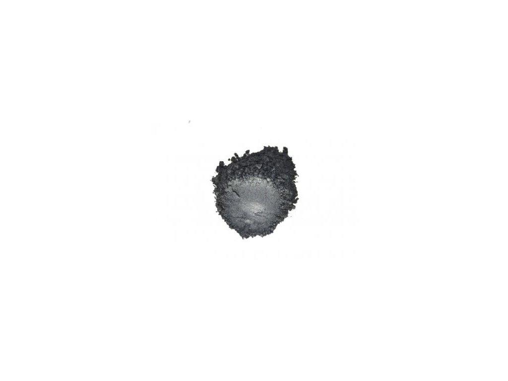 387 metalicky prasek 6091 black grey 10 60