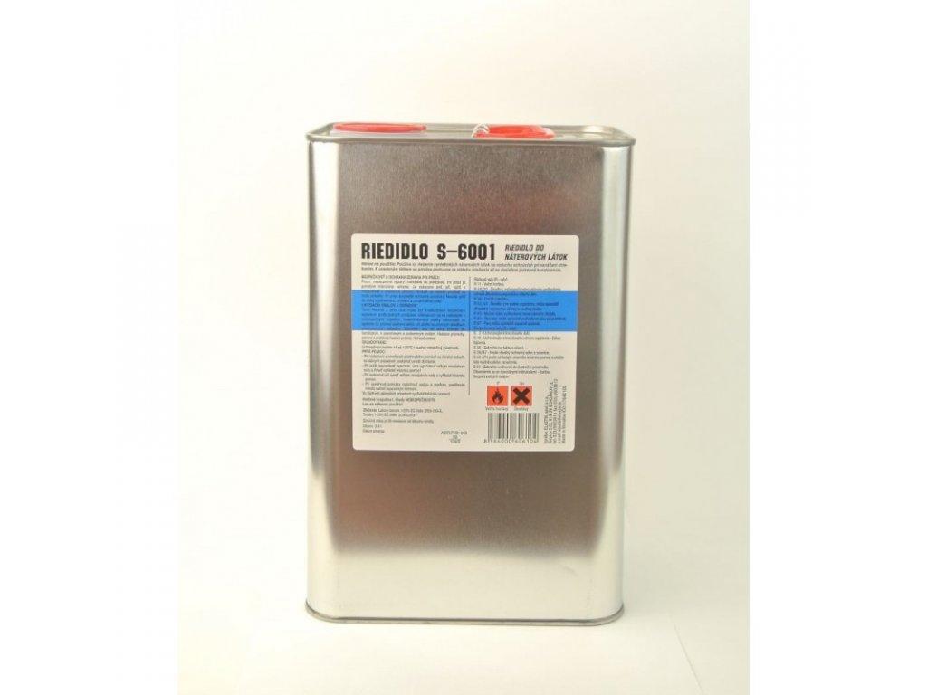 Riedidlo S 6001 syntetické riedidlo 9 L ELASTIC