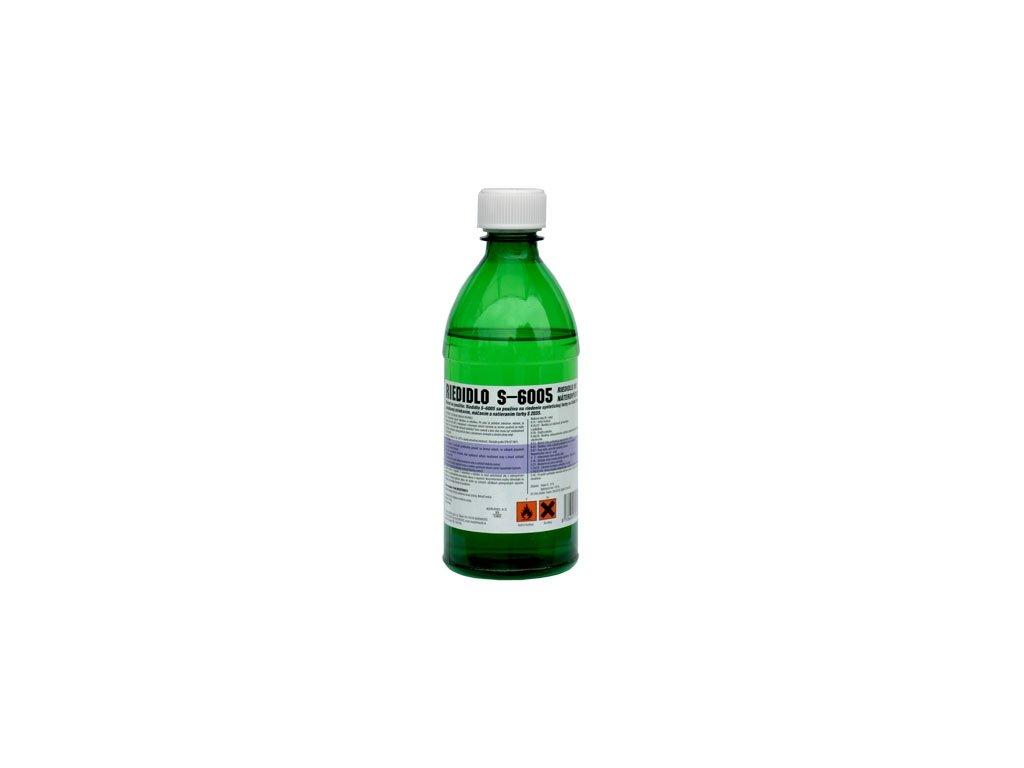 Riedidlo S 6005  syntetické riedidlo na jednovrstvové farby 370 g fľaša ELASTIC
