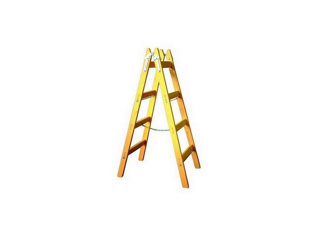 Rebrík drevený maliarsky 4 radový