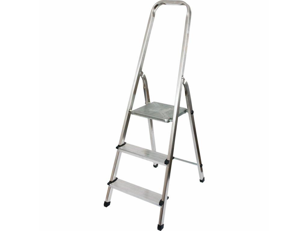 Rebrík aluminiový 3 schodíky