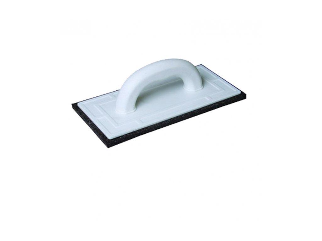 Hladidlo PVC 250 x 130 mm čierna plsť 34416