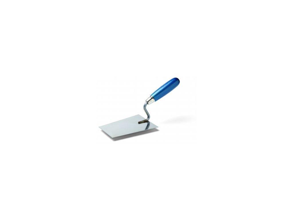Lyžica murárska 160x115mm Nerez 31222 modrá