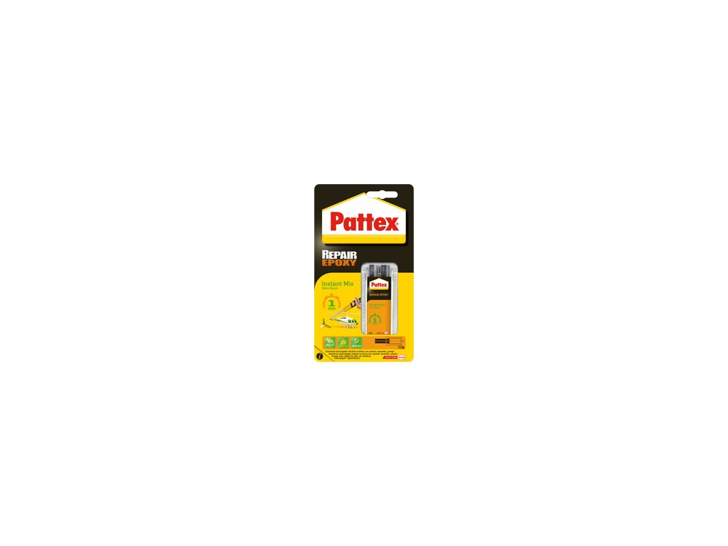 PATTEX repair epoxy ultra quick 1min.11ml