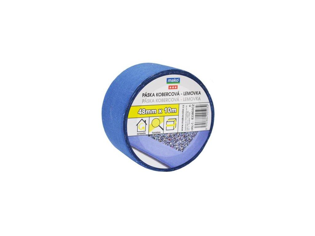 Páska kobercova textilna nosic 48mm*10m modra