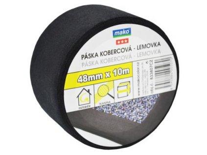 Páska kobercova textilna nosic 48mm*10m cierna