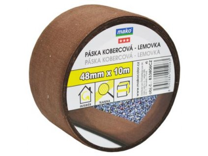 Páska kobercova textilna nosic 48mm*10m hneda