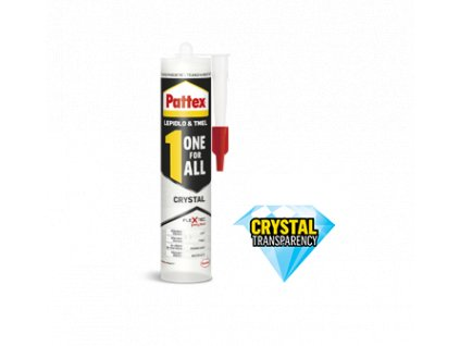 Pattex one for all crystal 290g priesvitné