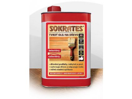 Sokrates tvrdý olej s voskom na drevo 0,75l