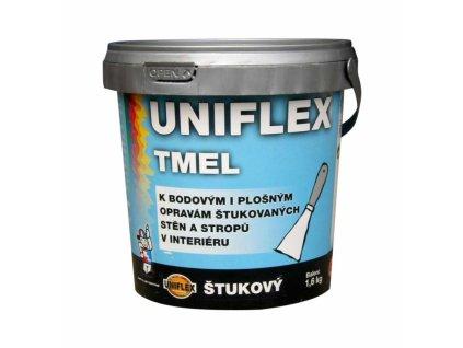 UNIFLEX Štukový akrylátový tmel na steny 1,6 kg