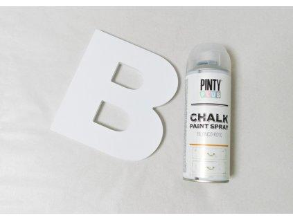 Pinty Plus kriedový sprej biela 400ml CK788