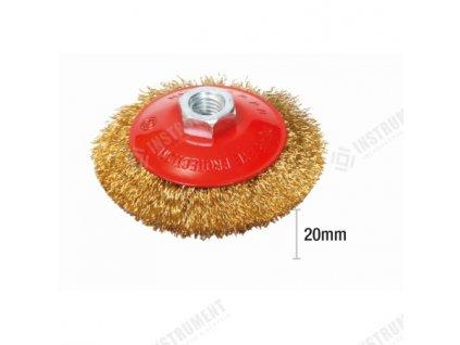 Brúsny kotúč mosadzný miskový priemer 100mm M14