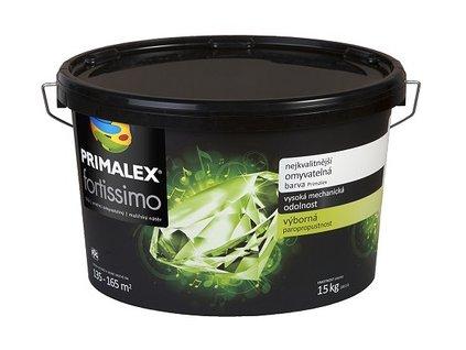 Primalex fortissimo biela umývatelná farba