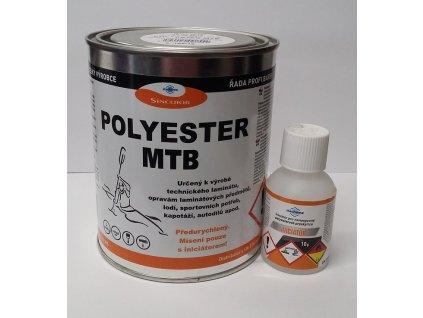 Polyester MTB (predurýchlený) SET + iniciátor 1,02KG