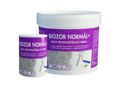 Biozor Normal+ 0,8kg biela