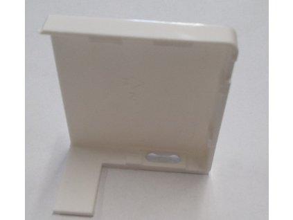 Krytka nosníka žalúzie biela väčšia - 1pár