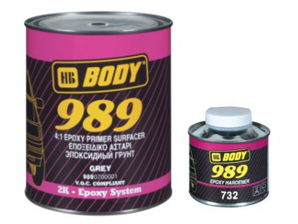 BODY 989 tužidlo do epoxidového základu 250 ml