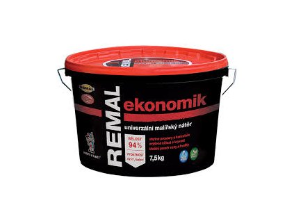 REMAL Ekonomik biela 7.5KG vnútorná farba