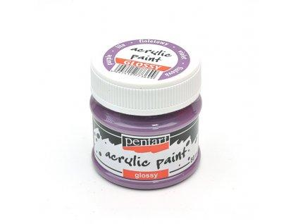 Akrylová farba lesklá fialová 50ml 2031