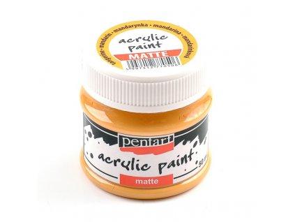 Akrylová farba matná mandarinka 50ml 20982