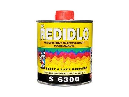 Riedidlo S 6300 epoxidové 4L BAL
