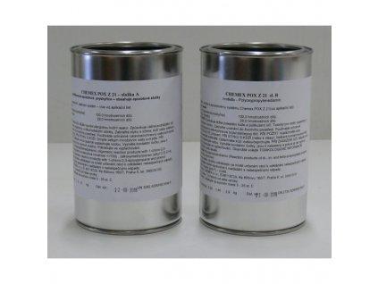 Chemex POX Z21 epoxidová živica na zalievanie číra sada 1,29 kg TOP kvalita
