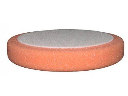 Leštiaci kotúč ETALON na suchy zips 150 x 50mm oranžový - stredný