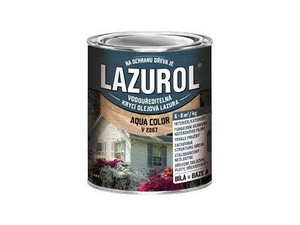 Lazurol Aqua Color olejova farba V 2067 0,7kg biela