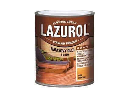 Lazurol terasovy olej S1080 2.5L Teakový