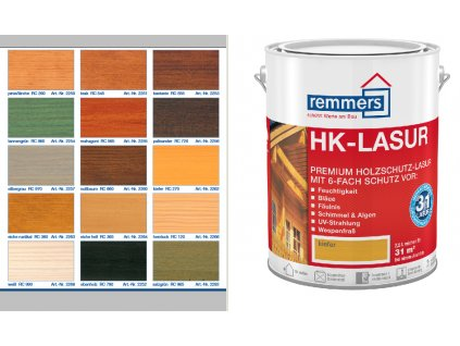 Remmers HK-Lasur 0,75l mix odtienov