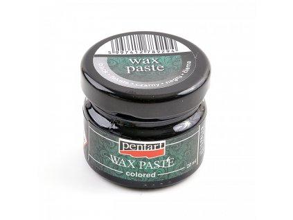 Vosková pasta, farebná, 20 ml, čierna 26678