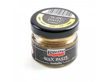 Vosková pasta, metalická 20 ml, zlatá 4426