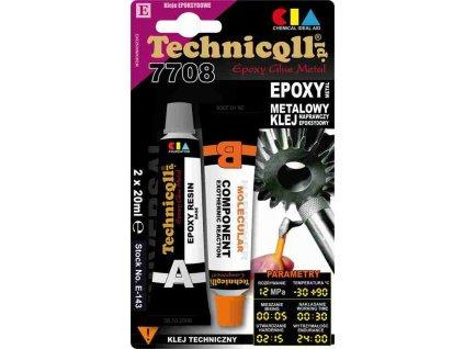 TECHNICOLL Epoxidové lepidlo na kov E-143 2 x 20 ml