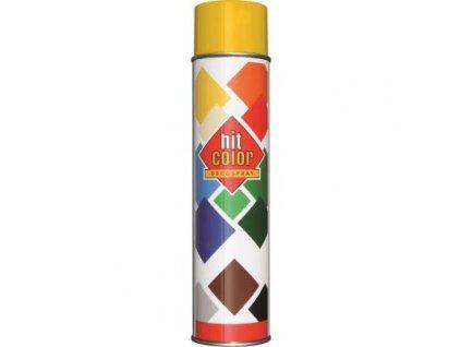 Hitcolor sprej ral 1021 600ml zlta horcicova