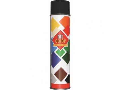 Hitcolor sprej ral 9005 matny 600ml cierny