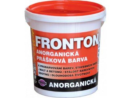 Praskova farba FRONTON 0,8kg cervena tmava