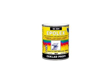 EPOXID Epolex základ profi S2300 0110+tužidlo 1,18kg šedá