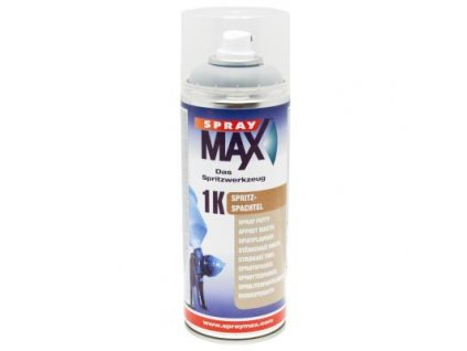 Sprej MAX 1K Striekací tmel 400 ml šedý  680 016