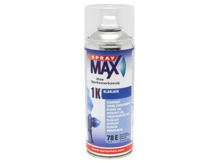 Sprej MAX 1K Bezfarebný jednozložkový lak 400 ml lesklý 680 051